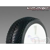 VP804G-WO-MF - 1/8 VP PRO Treno gomme Turbo Traxx Medium Flexx